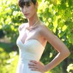 איילת המהממת בשמלת כלה במחוך לב בעיצוב אישי