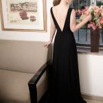 שמלת ערב גב פתוח