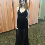 שמלת ערב שני חלקים